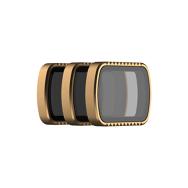 PolarPro Cinema Series SHUTTER Collection filter 3-Pack for DJI Osmo Pocket