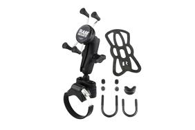 RAM W/ U-Bolt & UTV Strap Base & X-Grip