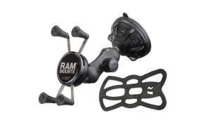 RAM X-GRIP Mount With Suction Cup