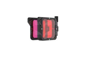 PolarPro Divemaster Filter Kit Red + Magenta Supersuit Edition for Hero7/6/5