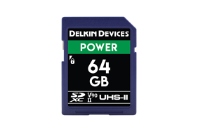 Delkin SD Power 2000x UHS-II U3 (v90) R300/W250 64Gb