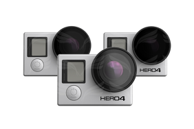 PolarPro Filter v2.0 GoPro Frame (PL, ND4, ND8) 3-Pack