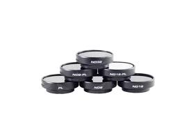 PolarPro Filters v2.0 GoPro Frame (PL, ND8, ND16, ND32, ND8/PL, ND16/PL) 6-Pack