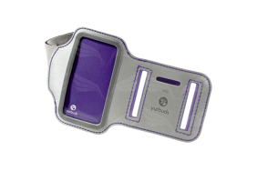 Yurbuds Armband iPhone 5/5S for Women Silver