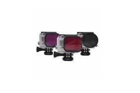PolarPro Filters GoPro (PL, Red, Magenta) 3-Pack