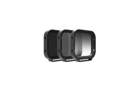 PolarPro Filters Venture 3-Pack for Hero 5 Black (Includes: PL, ND8, ND8-GR) (Includes Hard Case)